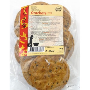 Crackers de riz complet large 100g