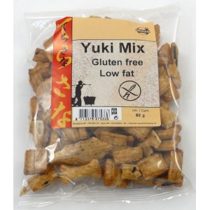 Yuki mix crackers de riz 80g