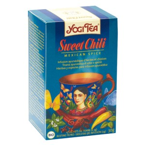 Yogi tea sweet chili 15 infusettes